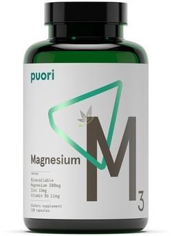 Puori M3 Magnesium 120 capsules