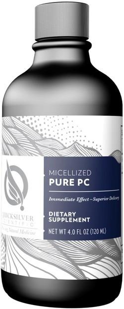 Quick Silver Micellized pure PC 120 milliliter