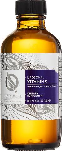 Quick Silver Liposomal Vitamine C 120 milliliter