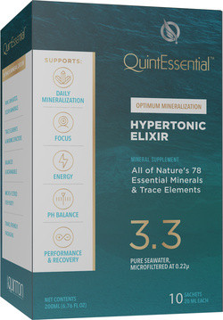 Quick Silver QuintEssential® Hypertonic elixir 10 zakjes