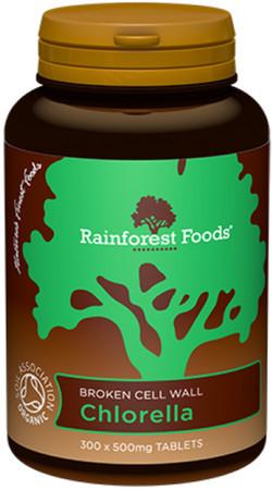Rainforest Foods Chlorella Tabletten Biologisch