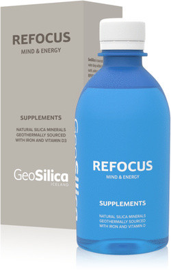 GeoSilica Iceland Refocus Mind & Energy 300 ml