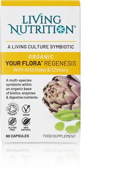 Living Nutrition Your Flora Regenesis 60 capsules biologisch
