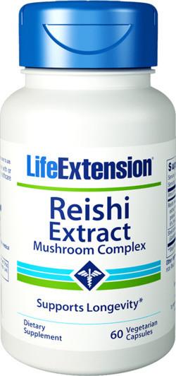 Life Extension Reishi Extract Mushroom Complex 60 capsules