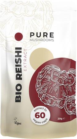 Pure Mushrooms Reishi Extract biologisch