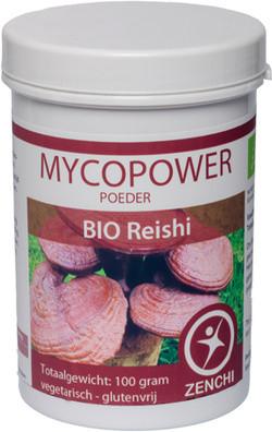 Mycopower Reishi poeder 100 gram biologisch