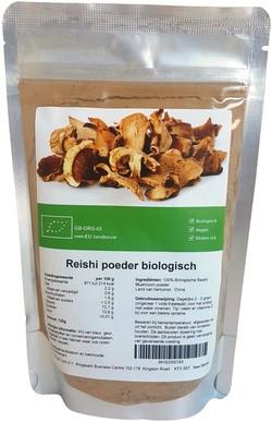 Reishi Mushroom Poeder 125 gram biologisch