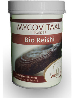 Mycovitaal Reishi poeder 100 gram biologisch
