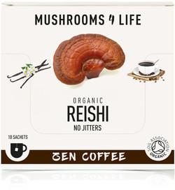 Mushrooms4Life Cordyceps Adaptogeen Koffie biologisch