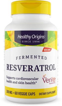 Healthy Origins Fermented Resveratrol Veri-te