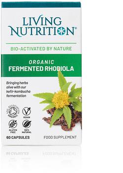 Living Nutrition Organic Fermented Rhodiola 60 capsules biologisch