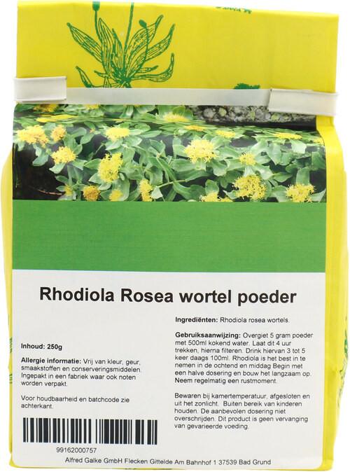 Shakthee Rhodiola wortel theepoeder