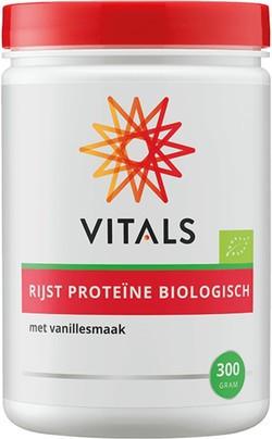 Vitals Rijst proteïne (vanillesmaak) 300 gram biologisch