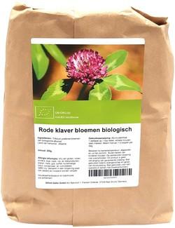 Rode klaver bloem heel biologisch 250 gram biologisch