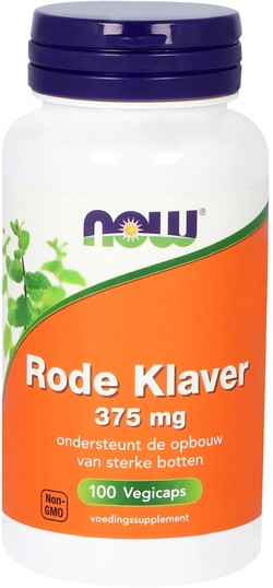 NOW Foods Rode Klaver 375 mg 100 capsules