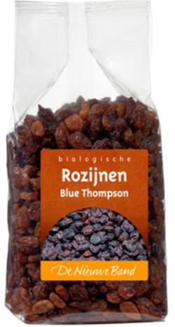 De Nieuwe Band Rozijnen blue thompson ongezwaveld biologisch