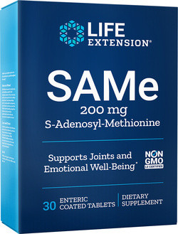 Life Extension SAMe 200 mg 30 tabletten