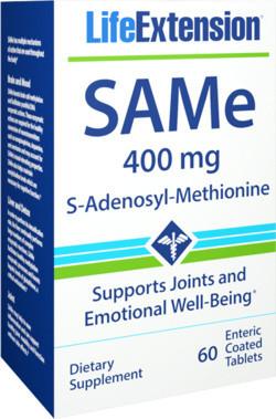 Life Extension SAMe 400mg