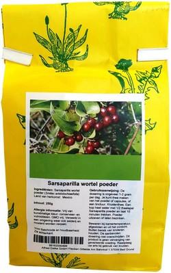 Sarsaparilla (Sariva) Wortel Poeder 250 gram