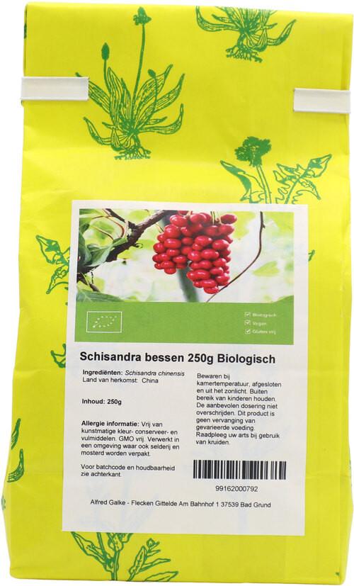 Shakthee Schisandra bessen biologisch 250 gram biologisch
