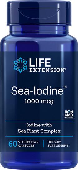 Life Extension Sea-Iodine (Jodium) 60 vegetarische capsules
