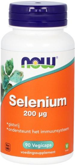 NOW Foods Selenium 200 mcg 90 capsules
