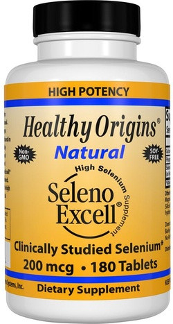 Healthy Origins Seleno Excell 200 Tabletten 180 tabletten