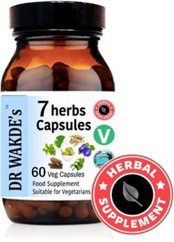 Dr. Wakde 7 Herbs 60 capsules