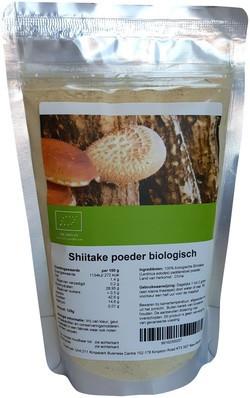 Shiitake Poeder biologisch