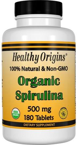 Healthy Origins Spirulina biologisch