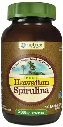 Nutrex Hawaii Spirulina Pacifica Hawaii 1000 mg 180 tabletten