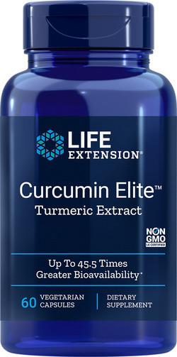 Life Extension Curcumin-Elite 60 vegetarische capsules