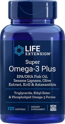 Life Extension Super Omega-3 Plus 120 capsules