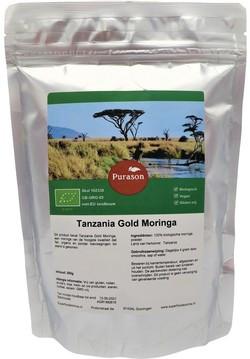 Purason Tanzania Gold Moringa 250 gram biologisch