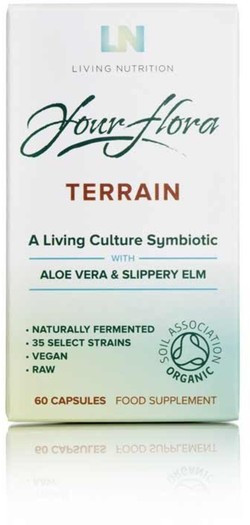Living Nutrition Your Flora Terrain Caps 60 capsules biologisch