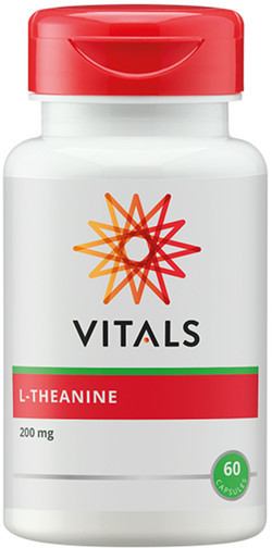 Vitals L-Theanine 200 mg 60 vegetarische capsules