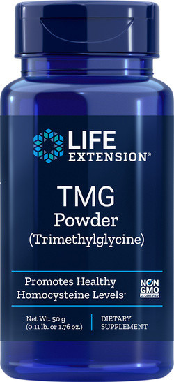 Life Extension TMG poeder 50 gram biologisch