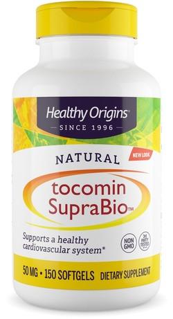 Healthy Origins Tocomin SupraBio Vitamine E