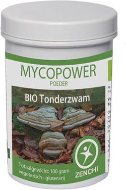 Mycopower Tonderzwam Poeder biologisch