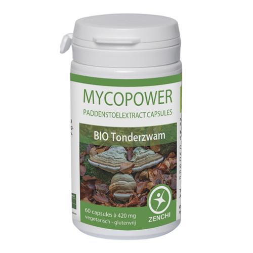 Mycopower Tonderzwam extract biologisch
