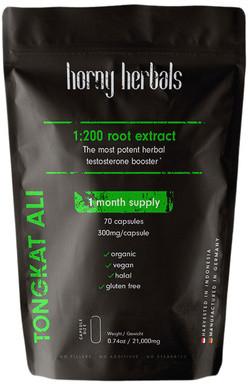 Horny Herbals Tongkat Ali 70 capsules