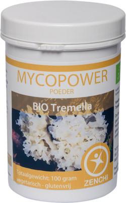 Mycopower Tremella poeder 100 gram biologisch