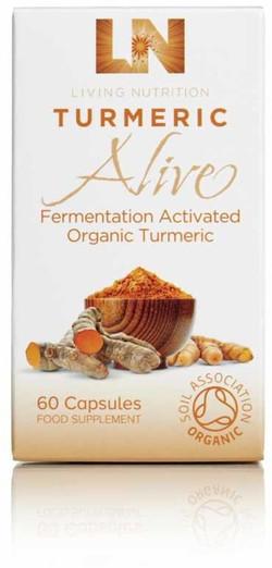 Living Nutrition Turmeric Alive Caps 60 capsules biologisch