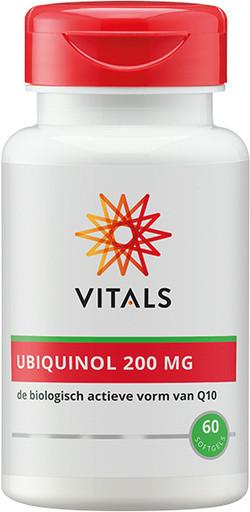 Vitals Ubiquinol 200 mg