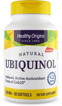 Healthy Origins Ubiquinol 200 mg