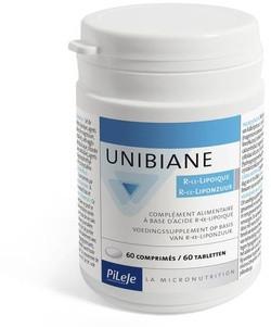 Pileje Laboratoire Unibiane R-alfa-liponzuur 60 tabletten