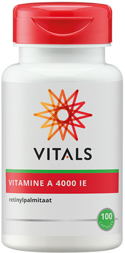 Vitals Vitamine A 4000IE 100 softgel capsules