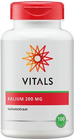 Vitals Kalium 200 mg 100 vegetarische capsules