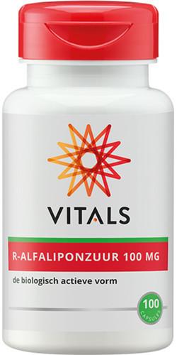 Vitals R-Alfaliponzuur 100 mg 100 vegetarische capsules