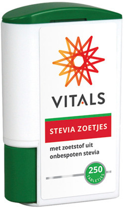 Vitals Stevia zoetjes 250 250 zoetjes